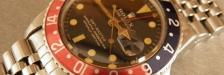 jonathan birn THE ROLEX GMT 1675 POINTED GUARD